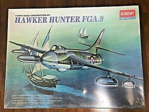 HAWKER HUNTER FGA.9 - ACADEMY 1/48 SEALED & COMPLETE PLASTIC MODEL KIT 2169