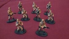 Set of plastic Toy Soldiers, Desert Storm (set of 9)