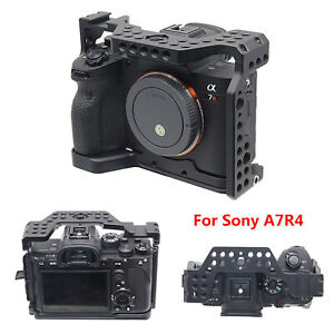 For Sony A7R4 Series Camera Aluminum Alloy Cage Housing Stabilizing Mount Kit