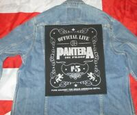 Pantera Patch 101% Proof Backpatch