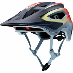Fox Mountain Bike Mtb Cycling Speedframe Pro Helmet Daiz Lite Blue S