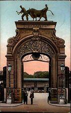 Feldpostkarte aus Lille Westfront Frankreich 1915 Poststation No.3 Siegelstempel