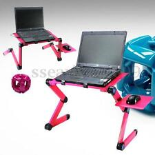 360° Foldable Laptop Notebook Desk Table Stand Bed Sofa Holder Tray Aluminium