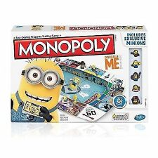 Despicable Me 2 Minions Monopoly Kids Family Board Game