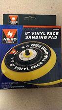 """NEIKO 30262A 6"""" VINYL FACE SANDING PADS"""