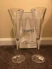 Tempo Crystal Toasting Flute Set Of Two