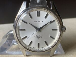 Vintage SEIKO Hand-Winding Watch/ Skyliner 6220-8010 21J SS 1968