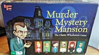 MURDER MYSTERY MANSION THE CLASSIC WHODUNNIT BOARD GAME UNIVERSITY GAMES VGC