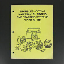 Troubleshooting Kawasaki Charging and Starting Systems Video Guide Manual 1993