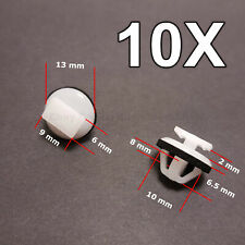 10X Exterior Trim Moulding & Rocker Moulding Clips for Nissan