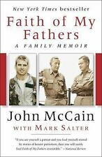 Faith of My Fathers by John McCain Book Paperback NEW