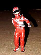 Michael Schumacher Ferrari 248 F1 2006 pilot Mini DRIVER FIGURE 1:43 METAL