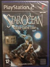 Sony PS2 Playstation 2 Star Ocean: Till the End of Time NUOVO FACTORY SEALED