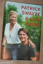 Patrick Swayze - The Time of My Life 2009 First Edition Biography Nice Pics