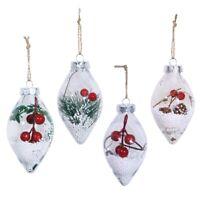 Weihnachten Ornament Weihnachtsbaum Drop Anhanger Hangen Ball Transparent K F7W9