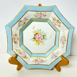 LIMOGES Art Deco La Seynie PP Dresser Tray / Dish / Serving Bowl / Hand Painted