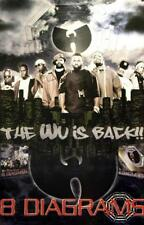 WU-TANG CLAN 2008 8 diagrams 2 sided promo poster NEW/MINT condition!!