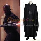 Star Wars The Phantom Menace Darth Maul Cosplay Costume Halloween Men's Uniform