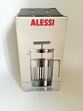 NIB Alessi Press Filter Coffee Maker Infuser 9094/8 - 8 Cup