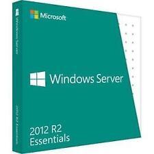 Microsoft Windows Server 2012 R2 Essentials 64-bit 25 Users Full Version for PC