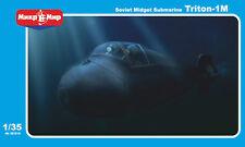 1/35 Triton 1-M Soviet Midget Submarine - Mikromir- New!