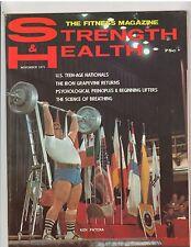 Strength & Health Bodybuilding Muscle Magazine/Olympics Ken Patera 11-71
