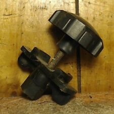 01-05 Hyundai Accent Spare Donut Tire Hold Down Clamp Mount Bolt w Nut - OEM