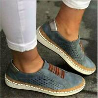 On Dress Flat Casual Shoes Women Leather Breathable Loafers Moccasins Slip