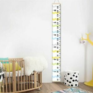 Canvas Childrens Height Chart Growth Chart Wall Hanging
