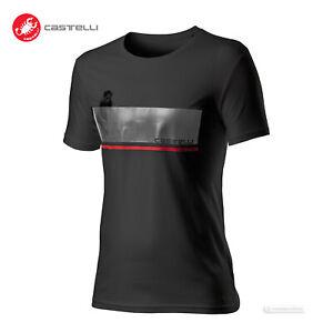 Castelli Cycling FENOMENO Casual T-Shirt : BLACK