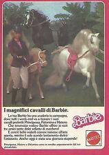 X1972 Barbie - Principessa Mistero e Palomino - Pubblicità del 1987 - Vintage ad