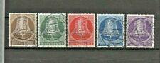 LOT GERMANY BERLIN 1953 : SET (5) LIBERTY BELLS - CAT. VALUE $ 60.00 : $ 1.00 ?!