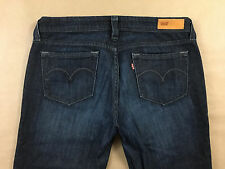 LEVIS Womens Stretch Bold Curve Bootcut Jeans Tag Size 11 M Actual 31x32