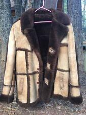 Vintage Leather Attic Men's Shearing Jacket. Size 44
