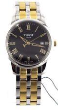 Orologi da polso analogico Tissot con cinturino in placcato oro