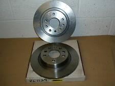 SAAB 9-3 2002on (When Fitted Solid Rear Discs) VL1129 Rear Brake Discs (Pair)