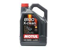 5 Liter MOTUL 5W-40 8100 X-CLEAN API SN, ACEA C3 VW 505 01 & BMW Longlife-04 &