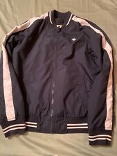 boys abercrombie Jacket Size 15/16 Color Blue And White