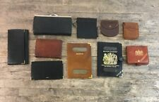 Quantity Of Vintage Genuine Leather Wallets, Purses & Passport Holders.