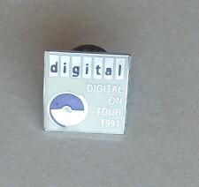 DIGITAL On Tour 1991 Lapel Hat Pin