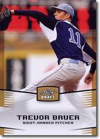 """12) TREVOR BAUER Reds 2012 Leaf Draft """"GOLD"""" National PROMOTIONAL RC Card LOT"""