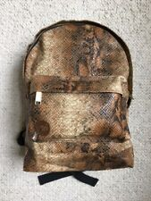 MiPac Faux snake skin mini backpack, authentic,  unused, brand new!