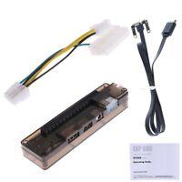 Socle De Carte Vidéo Pour Ordinateur Portable Externe PCIe PCI-E V8.4D EXP W9J9