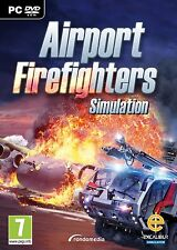 Airport Firefighters - The Simulation (PC DVD) BRAND NEW SEALED