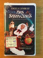 Angela Lansbury Mrs Santa Claus VHS NEW FACTORY SEALED Christmas