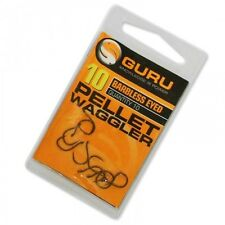 Guru Pellet Waggler Eyed Hooks - All Sizes Available