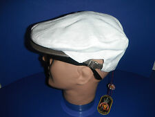 CHRISTYS of LONDON  GOLF driving Cap Hat  XL cotton linen blend NEW WITH TAG