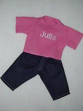 Für my first Baby Annabell 36cm FARBE WÄHLBAR Puppen Kleidung Puppenkleidung