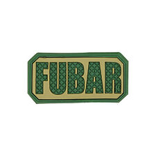 PVC Morale Patch - MAXPEDITION - FUBAR Tab - ARID - MULTICAM - Hook & Loop