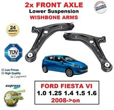 2x FRONT AXLE Lower Wishbone ARMS for FORD FIESTA 1.0 1.25 1.4 1.5 1.6 2008->on